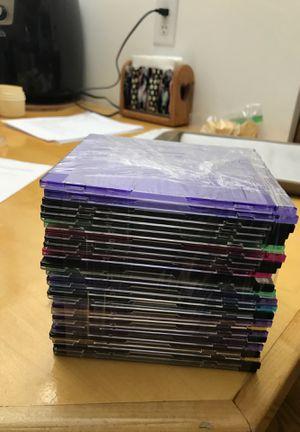 Slimline cd/dvd cases.. for Sale in Danville, PA