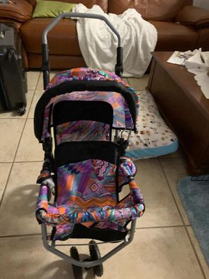 Graco Aluminum Doll Double Stroller . COLLAPSEABLE . GREAT CONDITION for Sale in Miami, FL