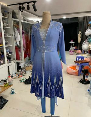 Elsa costume dress for Sale in Pembroke Park, FL