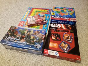 Games - Lot of 5 - New & Sealed! for Sale in Gaithersburg, MD