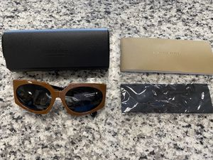 Brand new Burberry women's brown fashion oval sunglasses B4306 #16381-2 for Sale in Revere, MA