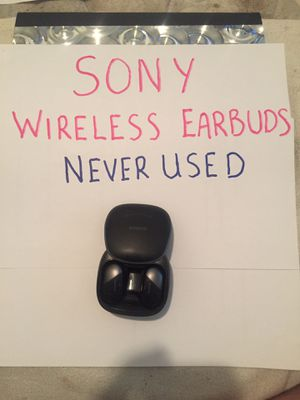 Sony Wireless Earbuds - Never Used - no box for Sale in Thornton, CO