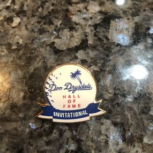 Collectible Vintage Los Angeles Dodgers Don Drysdale Hall of Fame Golf Invitational Pin. Brand new for Sale in Cerritos, CA