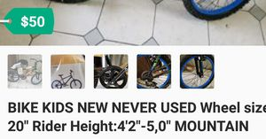 Bike KIDS New never used Nueva Nunca Usada precio firme location Bonanza 14th for Sale in Las Vegas, NV