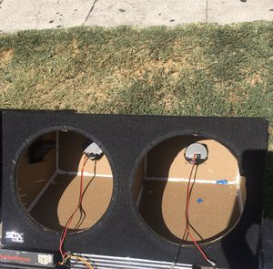 Subwoofer box for 12s for Sale in Los Angeles, CA