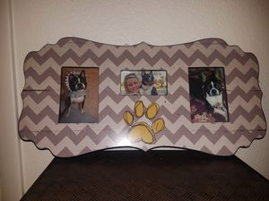 Dog Picture Frame for Sale in Bay Lake, FL