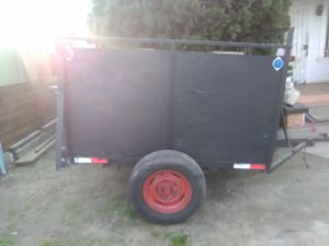Utility trailer pink slip for Sale in Los Angeles, CA
