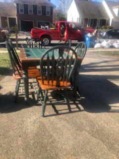 1 Table with 6 Matching Chairs for Sale in Fairfax, VA