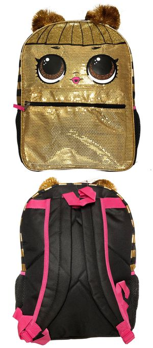 NEW! LOL Surprise Dolls Backpack school bag girls travel bag kids bag book bag party for Sale in Carson, CA