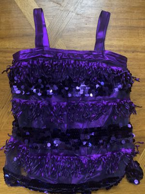 Dance Costume Latin Jazz Ballroom Purple for Sale in Miami, FL