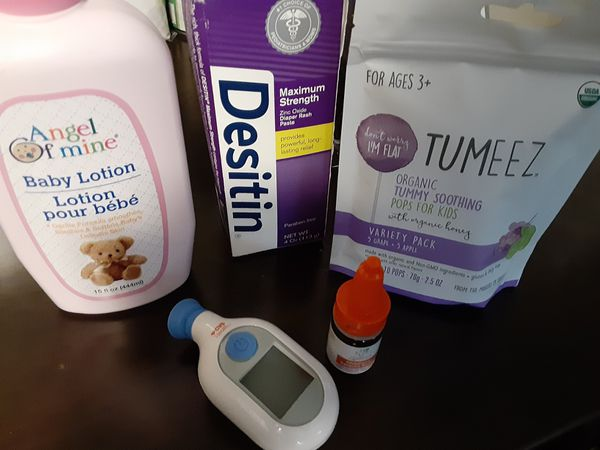 Baby/toddler care lot