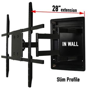 "In Wall 28"" TV Mount. At some positions DOES NOT HOLD THE LEVEL. for Sale in Sacramento, CA"