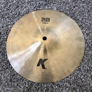 """Zildjian 10"""" K Splash Cymbal for Sale in Glendale, AZ"""