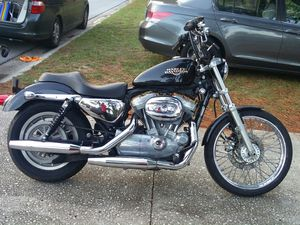 2009 Harley Davidson 883, very good condition for Sale in St. Petersburg, FL