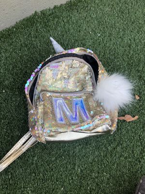 Justice girls mini sequin backpack for Sale in Baldwin Park, CA