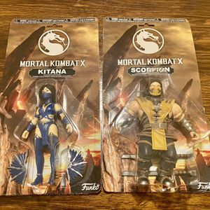 Funko Mortal Kombat X Collectible Action Figures for Sale in Tacoma, WA
