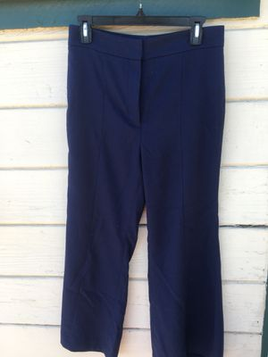 """Leith"" High Waisted Navy Trousers, size medium for Sale in Newark, CA"