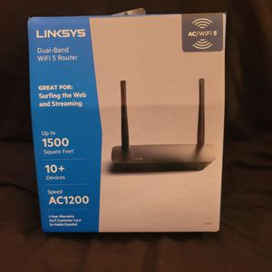 Lynksys Dual Band Wi-Fi Router AC1200 for Sale in Gaston, SC