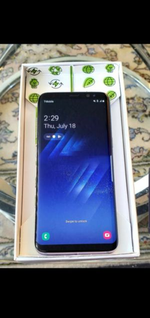 New Galaxy S8 Plus Samsung Unlocked Liberado DESBLOQUEADO T-Mobile Metro Att Cricket for Sale in Los Angeles, CA
