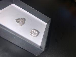 Screw on Diamond Earrings for Sale in Washington, DC