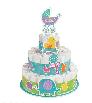 NEW UNUSED DIAPERS FROM DIAPER CAKE for Sale in Sacramento, CA