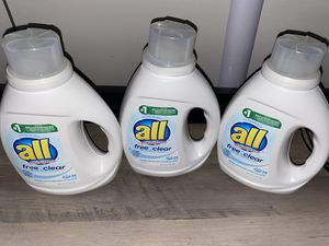 Laundry detergent bundle for Sale in Worcester, MA