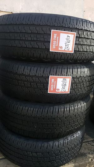 Four matching Goodyear tires for sale 275/65/18 for Sale in Washington, DC
