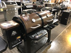 Brand New Pit Boss Wood Pellet Smoker Grill with Gas Combo for Sale in Dallas, TX