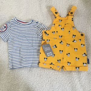 New Mickey Mouse Overalls (9-12 Months) for Sale in Long Beach, CA