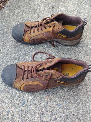 Caterpillar steel toe shoes 11 1/2 size for Sale in Seattle, WA