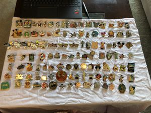 Disney Pins For Sale $5 Each for Sale in Wyomissing, PA