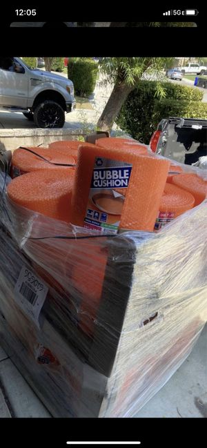 Pallet of bubble wrap ***Make an offer***$733 Value for Sale in Fontana, CA
