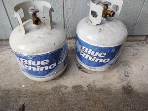 Two emty propane tank for Sale in Renton, WA