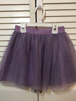 Girls Cat & Jack Purple Tulle Skirt Size 6/6x for Sale in South San Francisco,  CA