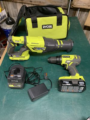 Ryobi Drill and Sawsall for Sale in Dartmouth, MA