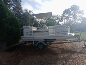 16 ft deck boat for Sale in Spring Hill, FL