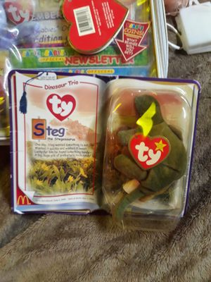 Two beanie baby's and Radio Flyer for Sale in Wichita, KS