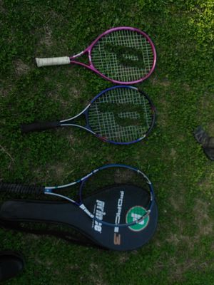 Lot of 3 prince raquets for Sale in Nashville, TN