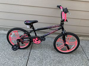 "20"" Mongoose Craze Freestyle Girls' BMX Bike for Sale in Mukilteo, WA"