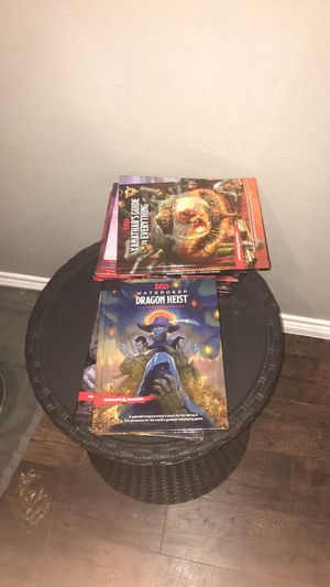 D&D 5E books for Sale in Aubrey, TX