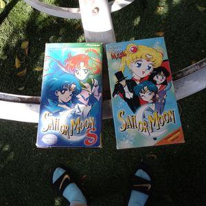 sailor moon vhs for Sale in Santa Ana, CA
