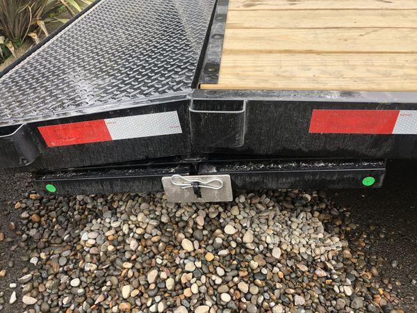 2021 20ftx82in Flat Bed Trailer Car Hauler
