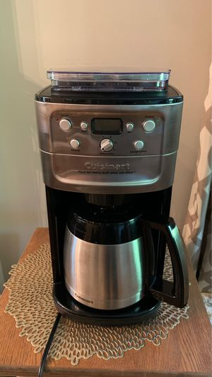 Cuisinart fully automatic burr grind and brew for Sale in Charlottesville, VA