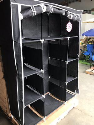 """50"""" Portable Closet Organizer Wardrobe Storage Clothes for Sale in Pomona, CA"""