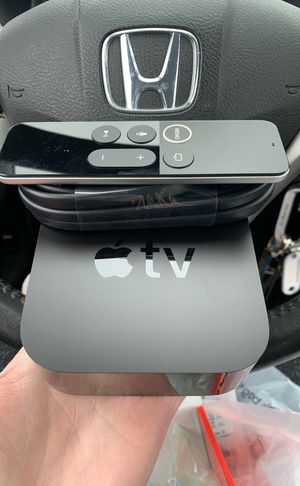 Apple TV 4K 64g for Sale in Elmer, NJ
