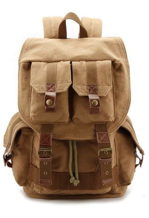Canvas Camera Backpack DSLR Camera Backpack with Rain Cover for Nikon,Canon,Son,Pentax Olympus and etc for Sale in Irvine, CA