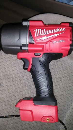 Milwaukee M18 FUEL 1/2 in. Cordless Brushless High Torque Impact Wrench with Friction Ring 18 v for Sale in Jamestown, NC