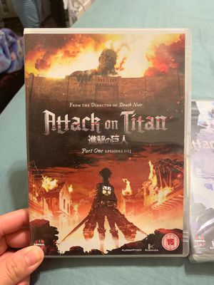 Attack on Titan Part I and II for Sale in Katy, TX