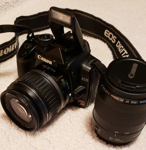 Canon EOS Rebel XTi 400D and lenses for Sale in Mill Creek, WA