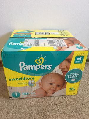 Pampers Swaddlers Sealed packed / not opened for Sale in Des Plaines, IL